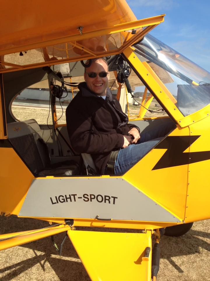 Jonathan O'Conner - Tailwheel Endorsement